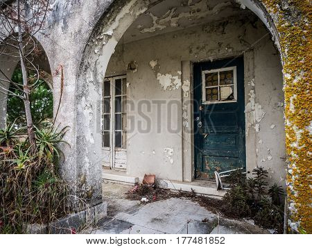 Old abandoned house in Alentejo region Portugal