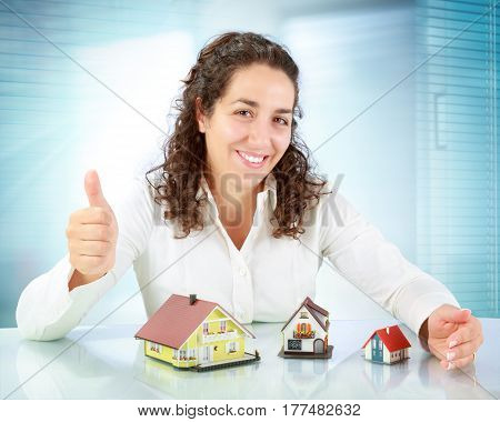 real estate agent offers a wide selection apartments