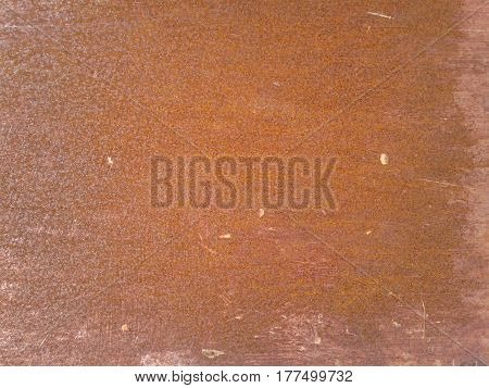 Brown Rusted Metal Texture Background