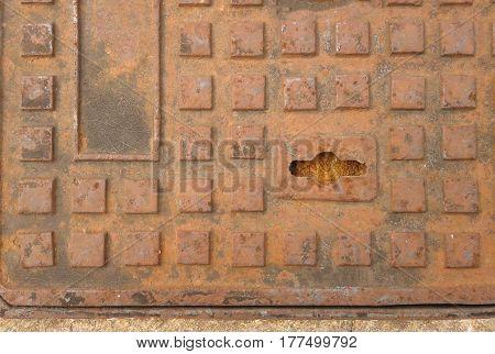 Rusted Drain Manhole