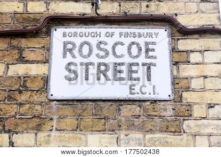 Borough Of Finsbury