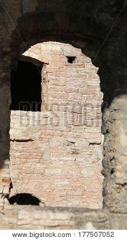 Asiago Vi Italy Deatil Of The Fort Of World War I Called Forte I