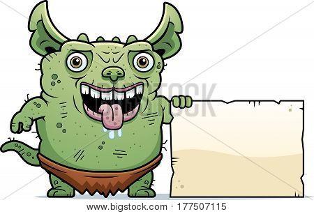 Ugly Gremlin Sign