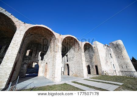 Old Fort Of World War I Called Forte Interrotto