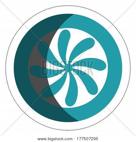 fan electric isolated icon vector illustration design