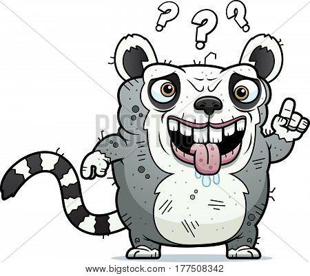 Confused Ugly Lemur