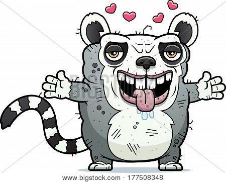 Ugly Lemur Hug