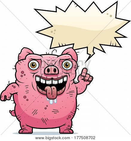 Ugly Pig Talking