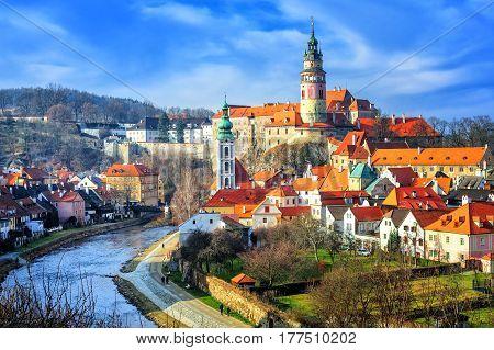 Cesky Crumlov Old Town, Czech Republic