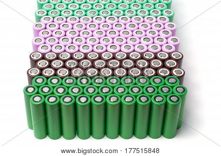 Li-ion 18650 size industrial high current batteries