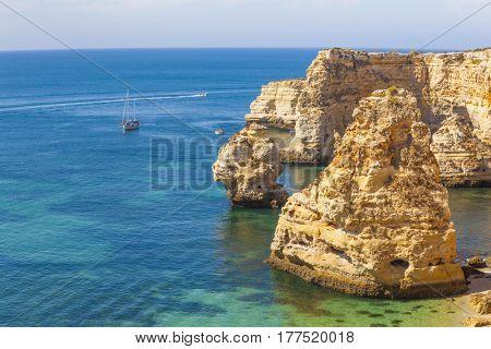 Seascape - Marinha beach, Algarve Portugal