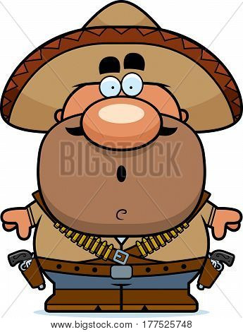 Surprised Cartoon Bandito