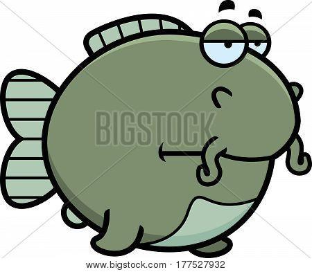 Bored Cartoon Catfish