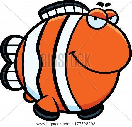 Sly Cartoon Clownfish