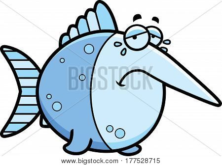 Crying Cartoon Swordfish