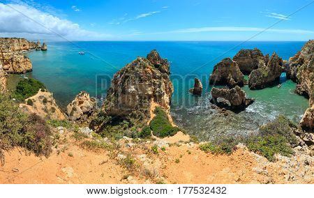 Ponta Da Piedade Cape (algarve, Portugal).