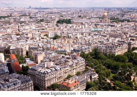 Paris From The Tower