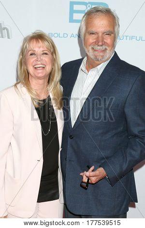 LOS ANGELES - MAR 19:  Laurette McCook, John McCook at the