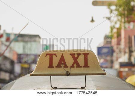 Taxi In Khaosan