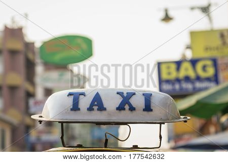 Taxi At Khaosan