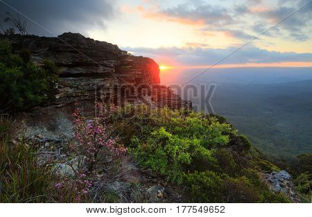 Sunset Views Katoomba Blue Mountains