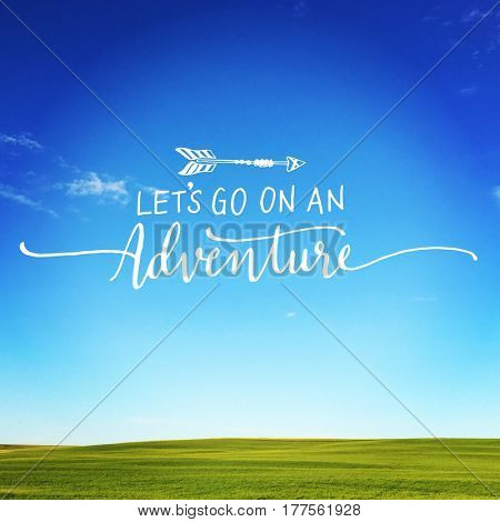 Quote - Let's go on an Adventure