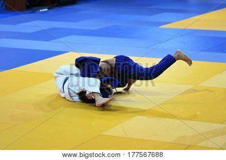 Boys Compete In Judo