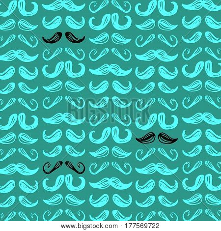 whisker, facial, mustache, vector, black, illustration, retro, face, hair, style