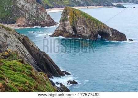 Costa De Loiba (asturias, Spain).