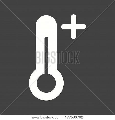 Heat, wave, hot icon vector image. Can also be used for disasters. Suitable for mobile apps, web apps and print media.