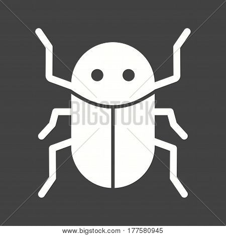 Cockroach, insect, infestation icon vector image. Can also be used for disasters. Suitable for mobile apps, web apps and print media.