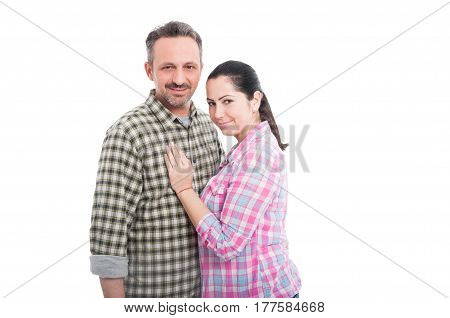 Portrait Of Happy Couple In Love