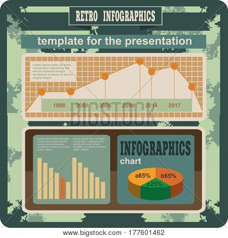 Business Retro Infographics Elements