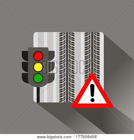 light traffic vector stoplight semaphore stop color