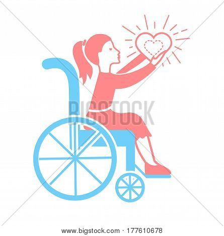 Icon  Of Disabled Persons.