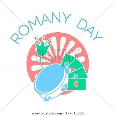 Icon  On The Romany Day.