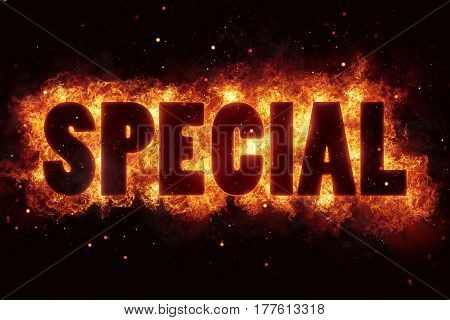 special sale price hot deal flames flame burn burning explode explosion