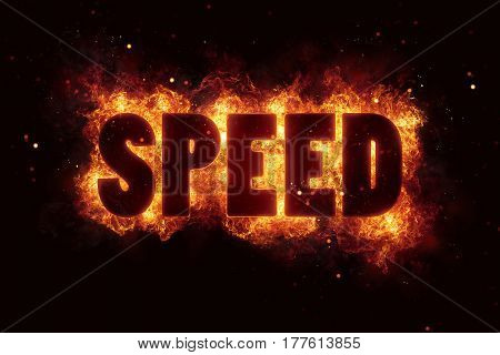 speed race flames flame burn burning explode explosion