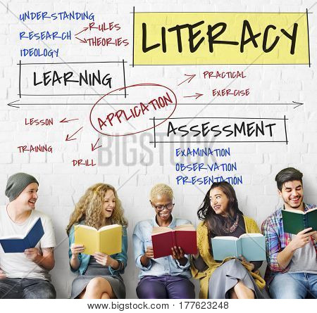Literacy Education Concept