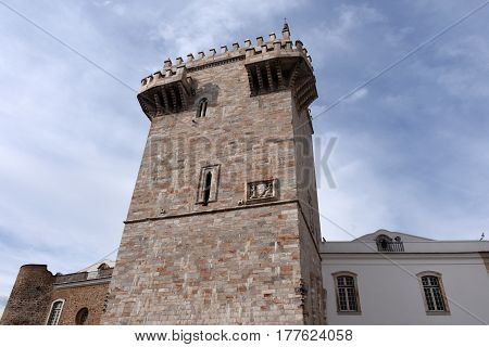 Tower (Tres Coroas) Three Crowns Estremoz Alentejo region Portugal