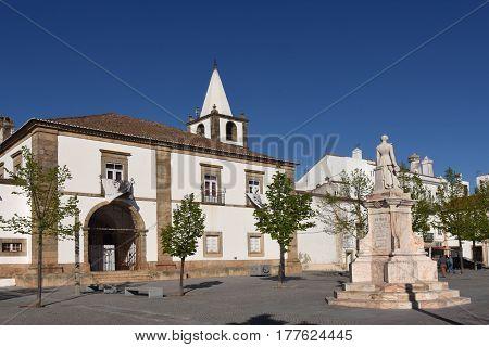 Square of Pedro V Castelo de Vide Alentejo region Portugal