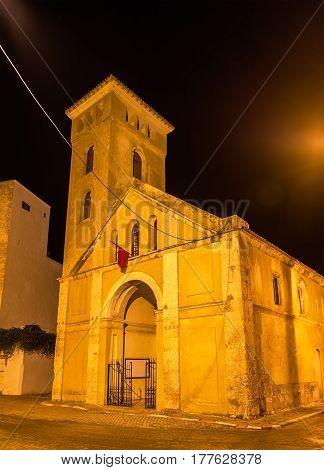 Church of the Assumption in the Portuguese City of Mazagan at El-Jadida - Morocco