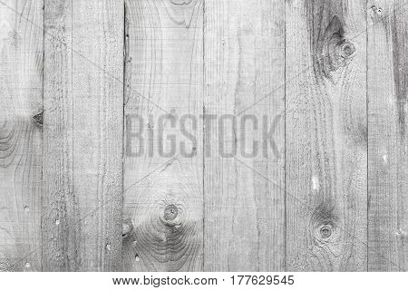 Outdoor White Wooden Wall Texture