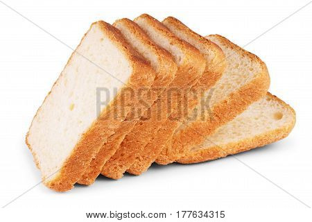 sliced bread isolated on white background healthy, bakery, nutritious, carbohydrate, fresh, product