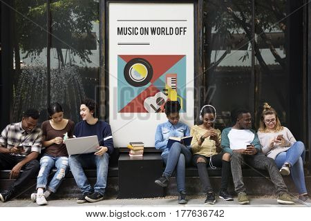 Digital music is a mobility entertainment.