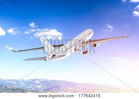 airplane aircraft transport aeroplane travel flight fly air plane trip jet business heaven