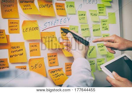brainstorming brainstorm strategy workshop business note notes sticky