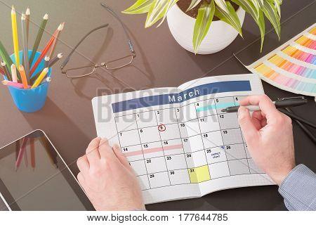 Calendar Events Plan notebook Planner Organization Organize