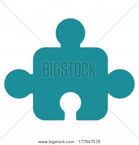 Component vector icon. Flat soft blue symbol. Pictogram is isolated on a white background. Designed for web and software interfaces.