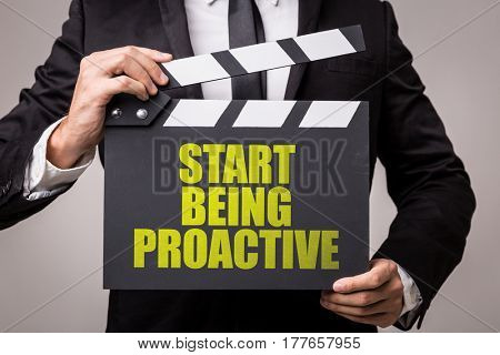 Start Being Proactive